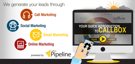 B2B Lead Generation Company | Appointment Setting, Telemarketing | Lead Generation Strategy, Concepts and Ideas | Scoop.it