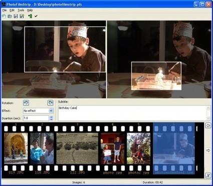 Logiciel gratuit de montage vidéo à partir de photos : PhotoFilmStrip | TranCool