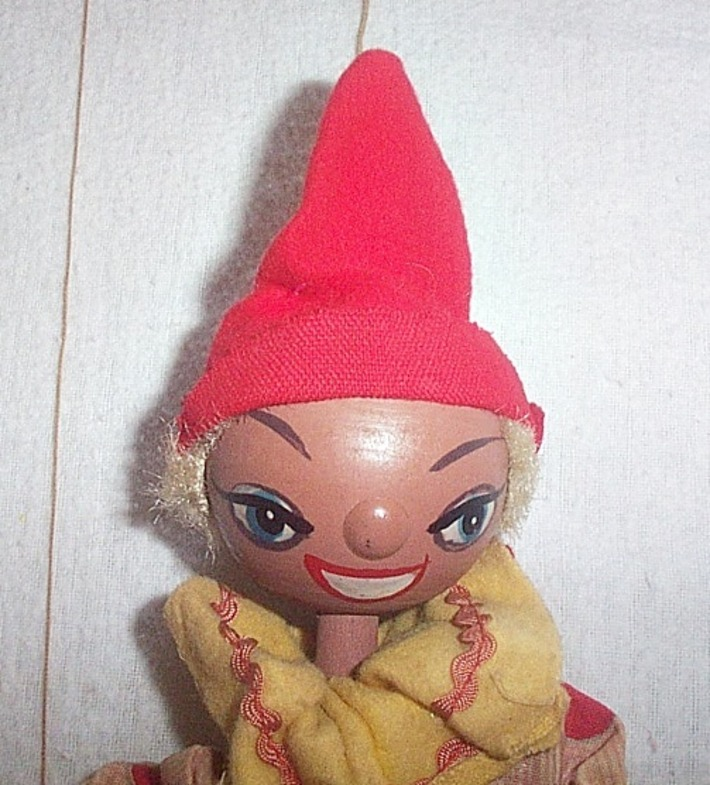 BEAUTIFUL Vintage MARIONETTE (String) Puppet | Kitsch | Scoop.it