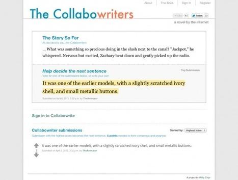 Les Collabowriters, initiative collective d'un roman internet | Biliothecaire numerique | Scoop.it