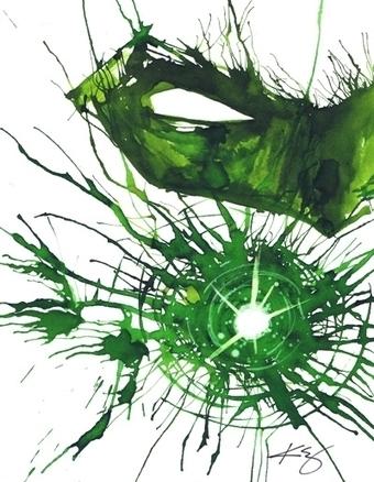 Green Lantern, in Jason WGavin's Artist: Kevin Eslinger Comic Art Gallery Room - 1195406 | Savvy Comics | Scoop.it