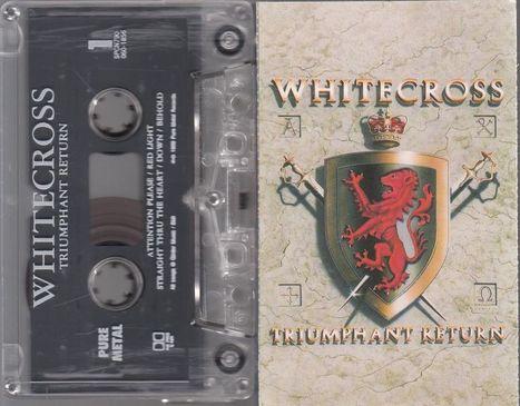 Whitecross Triumphant Return Cassette Tape 1989 Christian Heavy Metal Hard Rock   Heavy Metal   Scoop.it