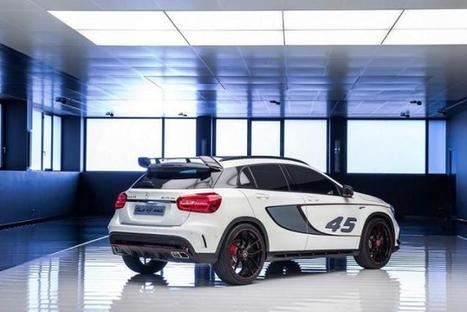 Mercedes Confirms Its GLA 45 AMG Concept | onlinegreatnews | Scoop.it