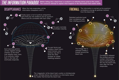 The information paradox: What happens to matter falling into a black hole? | Scientific anomalies | Scoop.it