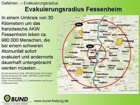 Aktionsbündnis Fessenheim stilllegen. JETZT! | EvakuierungsÜbung Gelungene Protestaktion für die Stilllegung des AKW Fessenheim | Scoop.it