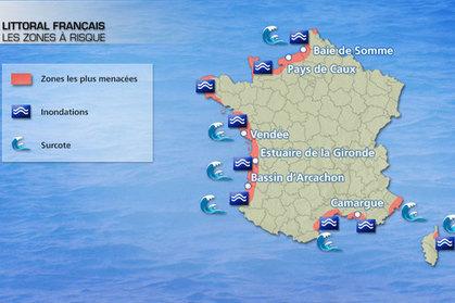 Les côtes menacées par les grandes marées - Figaro Nautisme | Astuces Vacances & News de Vendée | Scoop.it