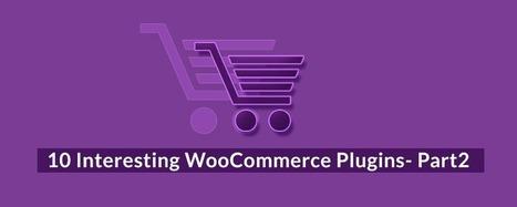 10 Interesting WooCommerce Plugins- Part2 | Wordpress | Scoop.it