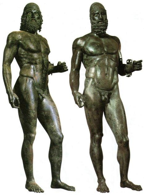 Twitter / giuseppenigro94: The #Bronzes of #Riace, of ... | Ancient Origins of Science | Scoop.it
