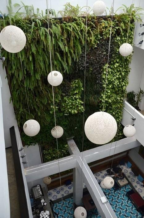 Jardines verticales, plantas que dialogan con cemento | Noticias La ... | Jardines Verticales y azoteas verdes. | Scoop.it