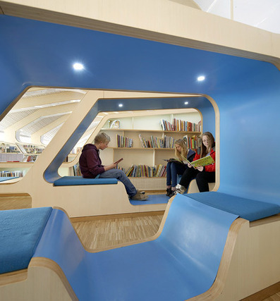 Beautiful Learning Spaces & libraries | Library world, new trends, technologies | Scoop.it