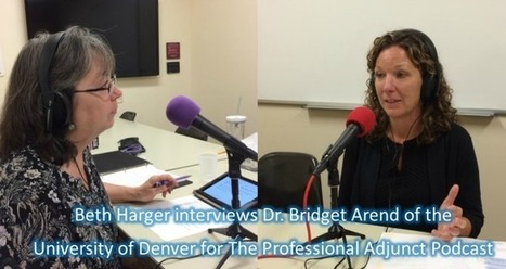 PA011: Interview with Dr. Bridget Arend (Part 1) | Teaching strategies for the college classroom | Scoop.it