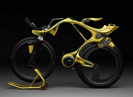Chainless INgSOC Hybrid Bike is Out of This World | tecnologia s sustentabilidade | Scoop.it