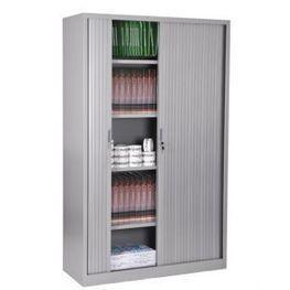 Armoire à rideaux, Hauteur 195, Largeur 120, Armoire de Bureau. | Negostock, le plus grand choix d'armoires de bureau ! | Scoop.it