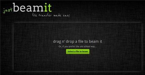 justbeamit – Envía archivos y recibe confirmación de su recepción, en HTML5   Aplicaciones y Herramientas . Software de Diseño   Scoop.it