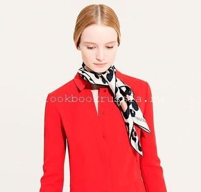 Осенние шарфы от Valentino | Блог о моде.LookBookRussia | Аксессуары 2013-2014 | Scoop.it