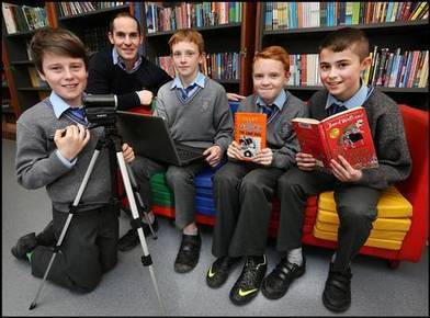 Primary pupils becoming video stars in online book reviews - Independent.ie | Storytelling in the 21st Century | Scoop.it
