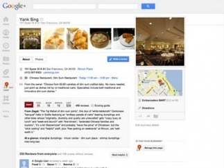 Google+ Local: The Search Giant's More Social Answer to Places | Go Mobile Social Local Today  | GoMoSoLo | Scoop.it