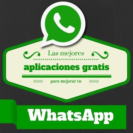 Las mejores aplicaciones gratis para mejorar tu WhatsApp | Seo, Social Media Marketing | Scoop.it