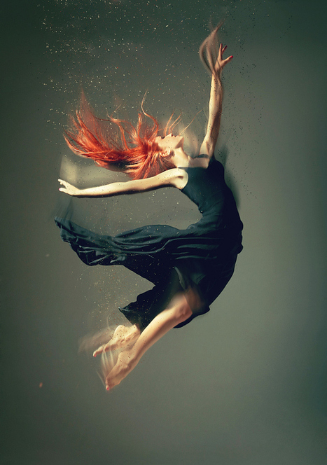 Eye-Popping Photos of Dancers Dissolving as They Move | The Art of Dance | Scoop.it
