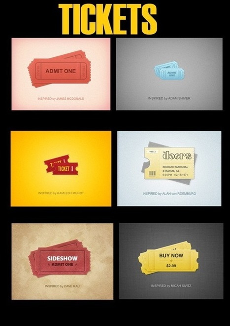 35 Awesome PSD Freebies for Your Design Needs | Web Design Blog, Web Designer Resources | timms brand design | Scoop.it