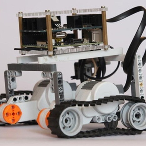 Make a LEGO Robot With a Raspberry Pi | Raspberry Pi | Scoop.it