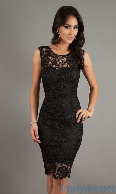 Black Bridesmaids Dresses | Fashion | Scoop.it