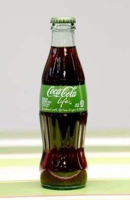 Not easy being green: Coke Life launch fizzes | Vending Machines | Scoop.it