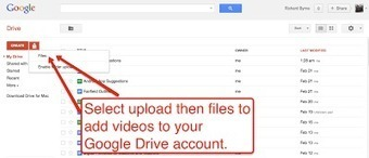 Free Technology for Teachers: Google Drive Videos Now Available in HTML5 | Uppdrag : Skolbibliotek | Scoop.it