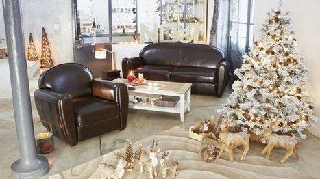 [Spécial Noël] Diaporama : je décore mon salon pour Noël   Céka décore   Scoop.it