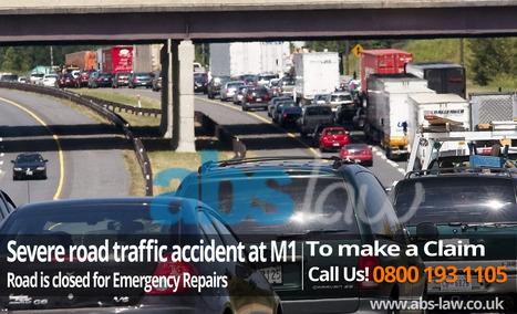 Severe road traffic accident at M1 | Road Traffic Accident Injuries, | My Website / Blog | Traffic Accident Claim UK | Scoop.it