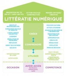 Qu'est-ce que la littératie numérique ? | Innovations pédagogiques numériques | Scoop.it