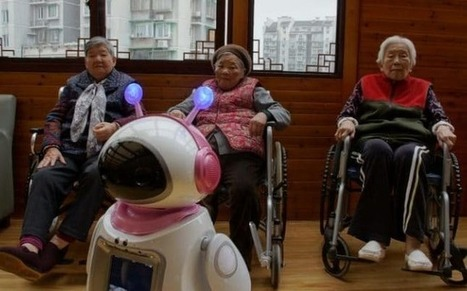 Together in electric dreams: Robots replace family love for China's lonely elderly | Informatik & Robotik in der Schule | Scoop.it