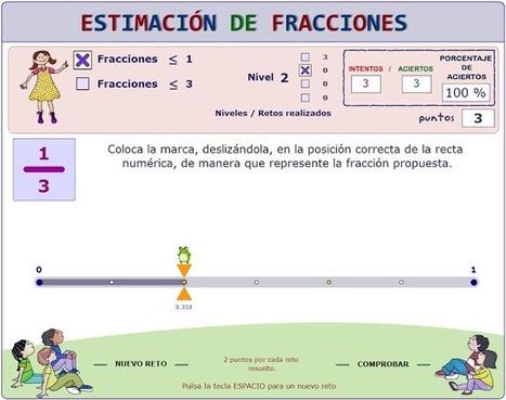didactmaticprimaria: Fracción de un número y estimación de ... | Matemáticas divertidas 1ºESO | Scoop.it