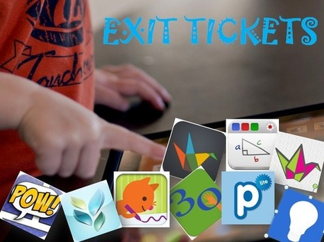 Exit Tickets and your iPad | 21st Century Mathematics | Scoop.it