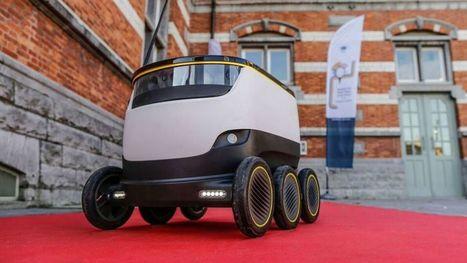 Les colis livrés par des robots, c'est pour demain en Europe | Drone | Scoop.it