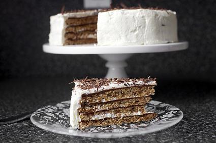 chocolate-hazelnut macaroon torte | smitten kitchen | Cocina y alimentos | Scoop.it
