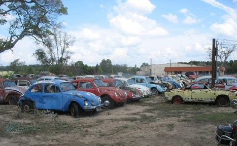 Don's Bug Barn — A Vintage VW Salvage Yard | 1967 VW Beetle | VW Cox Aircooled | Scoop.it
