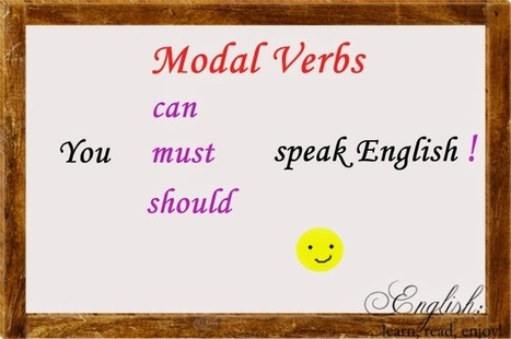 English:learn,read,enjoy!: Modal verbs Part 5: Absence of Necessity & Prohibition   English Language   Scoop.it