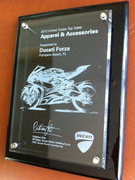 Congratulations to Ducati Forza – #1 Apparel & Accessories Dealer in the USA! | Ductalk | Scoop.it