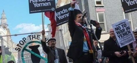 Britons protest against Saudi air strikes on Yemen - | news | Scoop.it