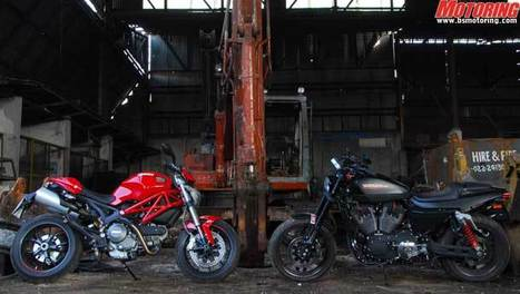 We Twins - Ducati Monster 796 v/s Harley Davidson XR1200X | Ducati & Italian Bikes | Scoop.it