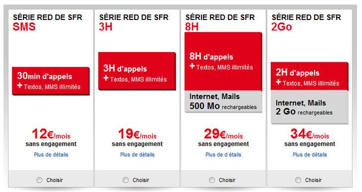 """SFR présente ses nouvelles offres low cost avec Red   Veille Techno et Informatique """"AutreMent""""   Scoop.it"""