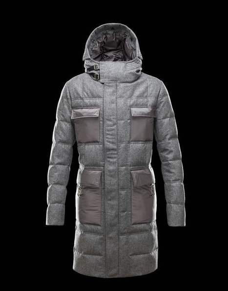 Moncler Uomini Pesante Giacca Gamme Bleu Grigio Vendesi Online | nice day | Scoop.it