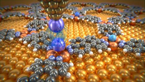 Physicists measure van der Waals forces of individual atoms for the first time | Amazing Science | Scoop.it