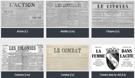 La presse ultramarine d'Antan à portée de clics | Ressources politiques Guadeloupe | Scoop.it