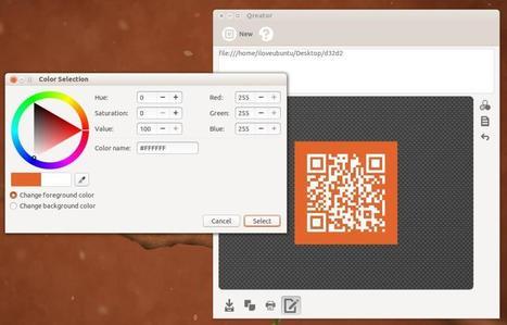 Qreator 13.05.1 disponible : Générez facilement vos QR codes sur GNU/Linux | Bourrage papier | Scoop.it