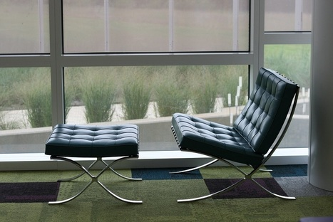 "Chairs of Hunt Library — ""A chair is a very difficult object,"" Mies van der... 