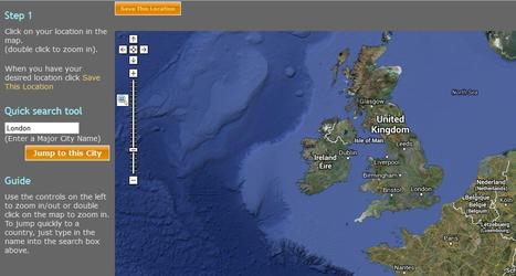 11 sites pour créer et personnaliser les cartes géographiques | Ressources thématiques cbb mobile | Scoop.it