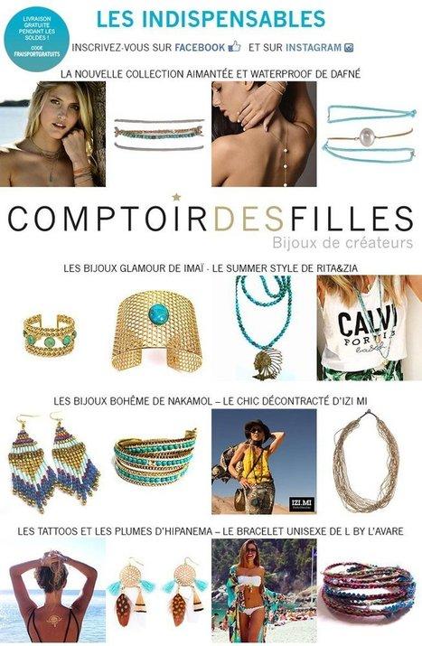 Les bijoux indispensables pour cet été - Comptoir des Filles | Comptoir des Filles | Scoop.it