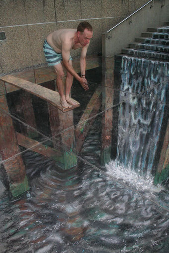 3D illusions pavement street art | Julian Beever | Looks -Pictures, Images, Visual Languages | Scoop.it